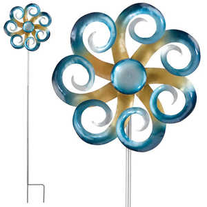 Regal Art & Gift 5237 Kinetic Stake - Waves