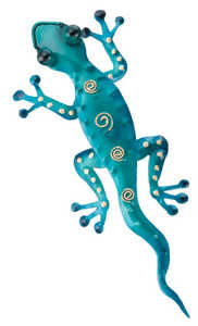 Regal Art & Gift 5293 Gecko Wall Decor - Blue