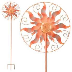 Regal Art & Gift 5239 Circle Sun Kinetic Stake