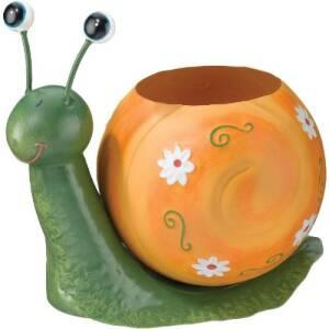 Regal Art & Gift 10309 Snail Planter