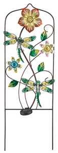 Regal Art & Gift 10643 Dragonfly Solar Trellis - Green