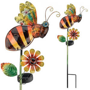 Regal Art & Gift 10544 Solar Bee Stake