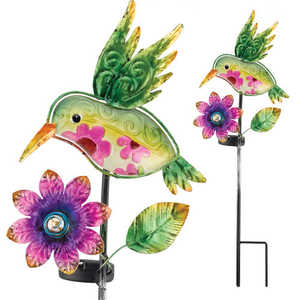 Regal Art & Gift 10547 Solar Hummingbird Stake