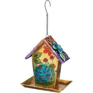 Regal Art & Gift 10557 Lantern/Birdfeedr Solar Snail