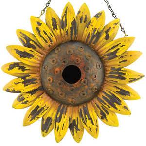 Regal Art & Gift 10705 Rustic Sunflower Birdhouse