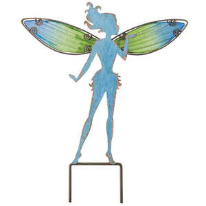 Regal Art & Gift 10801 Stake Garden Fairy 10 in Blue