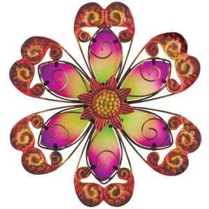 Regal Art & Gift 10845 Flower Wall Decor 9 in - Purple