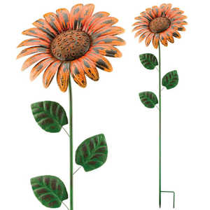 Regal Art & Gift 10699 Giant Flower Stake - Rustic Daisy