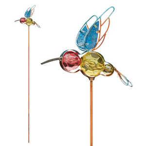 Regal Art & Gift 10947 Jeweled Bug Stake - Hummingbird