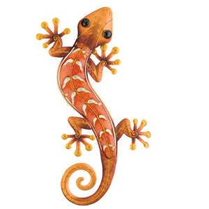 Regal Art & Gift 10931 Gecko Wall Decor 24 in - Copper
