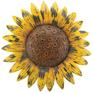 Regal Art & Gift 10728 Rustic Flower Wall Decor - Sunflower