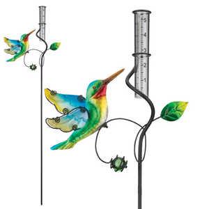 Regal Art & Gift 10887 Rain Gauge - Hummingbird