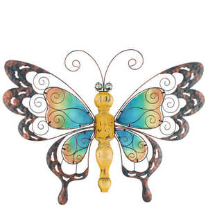 Regal Art & Gift 10841 Countrywood Butterfly - Yellow