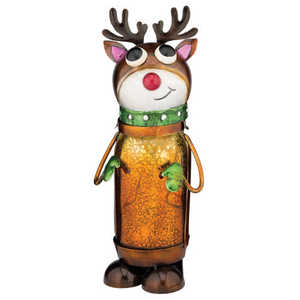 Regal Art & Gift 11034 Reindeer Led Jar Decor