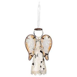 Regal Art & Gift 11057 6 in Ivory Praying Angel Ornament