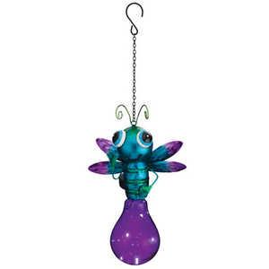 Regal Art & Gift 11256 Solar Firefly Lantern - Purple