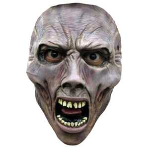 GHOULISH PRODUCTIONS 10101 World War Z Face Mask Scream Zombie 1