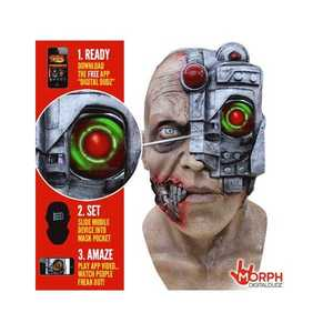GHOULISH PRODUCTIONS 10314 Digital Scanny Cyborg Mask