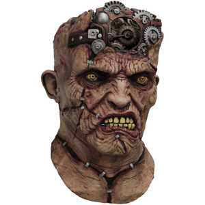 GHOULISH PRODUCTIONS 10331 Mechanical Brained Frankenstein Mask
