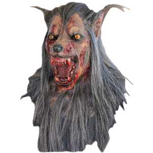 GHOULISH PRODUCTIONS 26337 WOLF BROWN Mask
