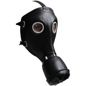 GHOULISH PRODUCTIONS 26519 GP-5 Gas Mask Black