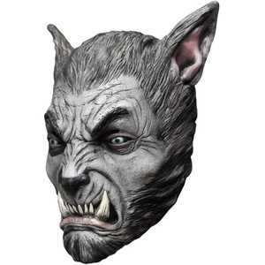 GHOULISH PRODUCTIONS 26535 BEAST Silver Wolf Mask