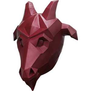 GHOULISH PRODUCTIONS 26583 LOW POLY GOAT Mask