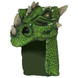 GHOULISH PRODUCTIONS 26599 Green DRAGON Helmet