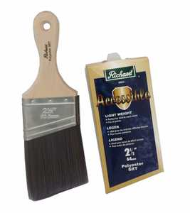 Richard Tools 80823 2-1/2-Inch Connoisseur Accessible Angular Paint Brush