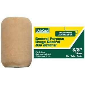 Richard Tools 94062 4 in General Purpose Roller Cover; 3/8 in Pile 2pack