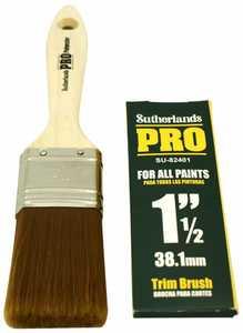 Richard Tools SU-82401 1-1/2 in Trim Brush Sutherland Pro