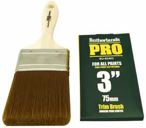 Richard Tools SU-82403 3 in Trim Brush Sutherland Pro