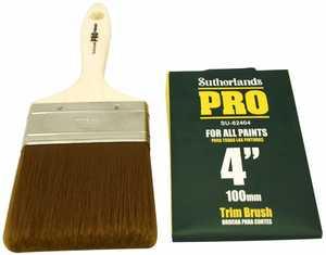 Richard Tools SU-82404 4-Inch Sutherland Pro Trim Brush