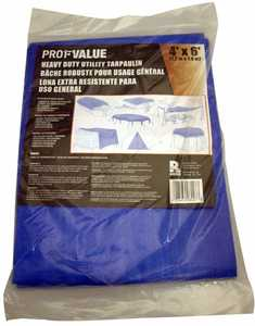 ProfValue Z08007 48 in X 72 in Heavy Duty Utility Tarpaulin