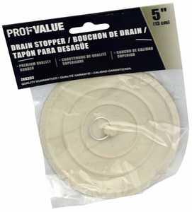 ProfValue Z08333 5 in Drain Stopper