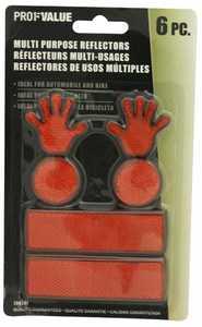 ProfValue Z08501 Reflector Set 6 Piece