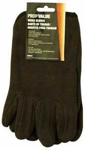 ProfValue Z08529 Brown Insulated Work Gloves