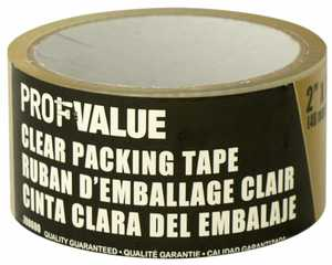 ProfValue Z08600 Clear Packing Tape 40m