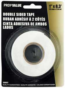 ProfValue Z08607 Double Sided Tape 24mm X 2.54m