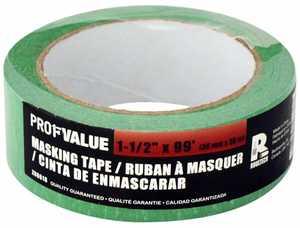 ProfValue Z08618 Green Masking Tape 36mm X 30m