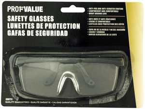 ProfValue Z08711 Safety Glasses