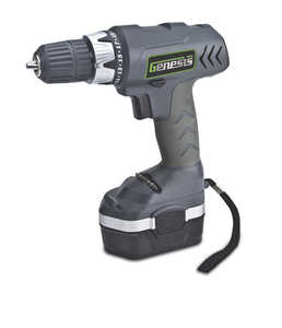Genesis GCD18CP 18v Cordless Drill/Driver