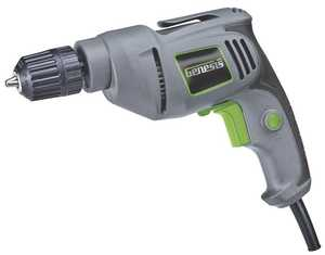Genesis GD38B 3/8 in Vsr Electric Drill