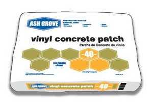 Ash Grove 00120 Vinyl Concrete Patch 40 Lbs