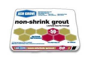 Ash Grove 00131 Non-Shrink Grout 50 Lbs