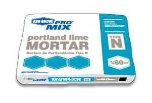 Ash Grove 00212 Blended Mortar Portland Lime Type N 80 Lbs