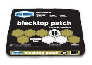Ash Grove 00385 Black Top Patch 60 Lbs