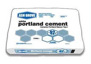 Ash Grove 11004 Portland Cement White 92.6 Lbs