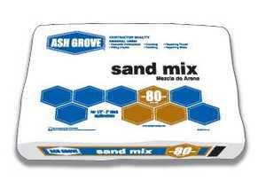 Ash Grove 31028 Sand Mix 80 Lbs