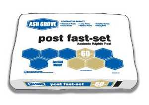 Ash Grove 31038 Post Fast Set 60 Lbs